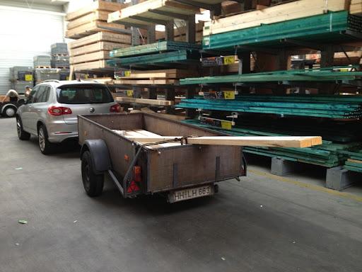 Holz Für Außenküche : Projekt außenküche holz kaufen und stahlträgerauflage vorbereiten