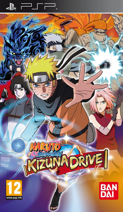 Free Download Naruto Shippuden Kizuna Drive (English) PSP Game Rom
