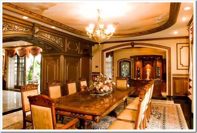 ruang makan mewah