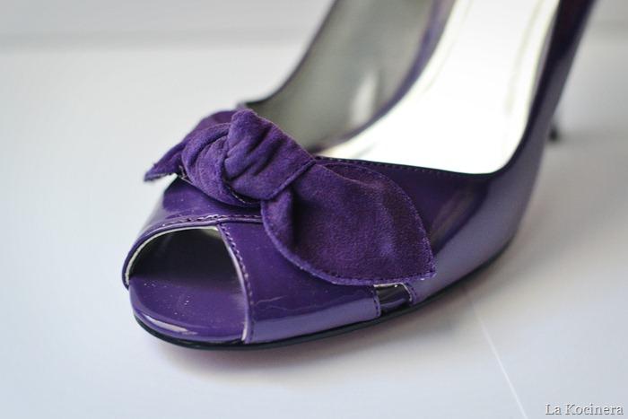 purple peep toes