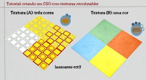 Tutorial - texturas recolorables (lassoares-rct3)