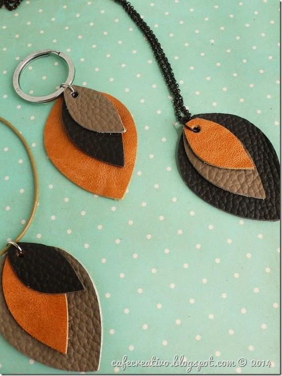Tutorial come fare bijoux in pelle cafe creativo for Oggetti in cuoio