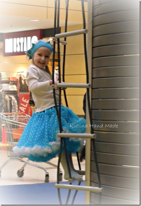 голубая юбка 1 027