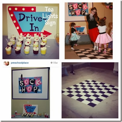 50s-Diner-Party-Sign-Classroom-PreschoolPlace