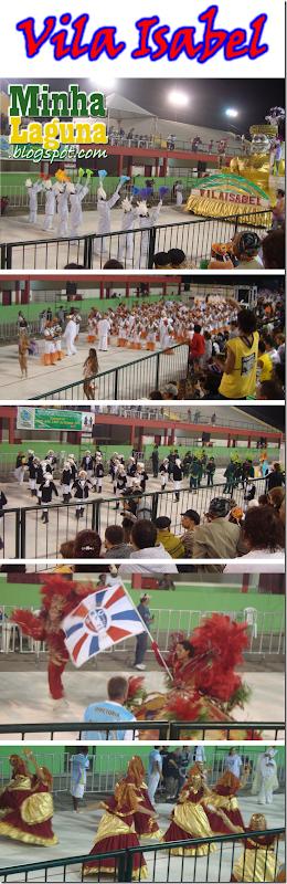 Desfile Vila Isabel Carnaval 2012 Laguna