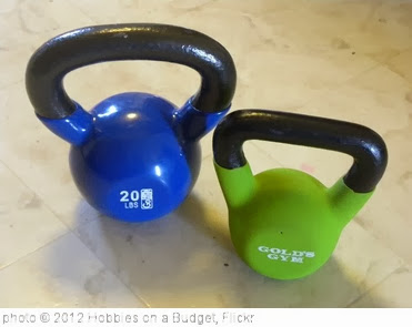 'kettlebells' photo (c) 2012, Hobbies on a Budget - license: http://creativecommons.org/licenses/by/2.0/