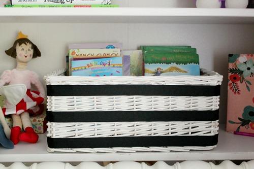 ribbon book basket 028