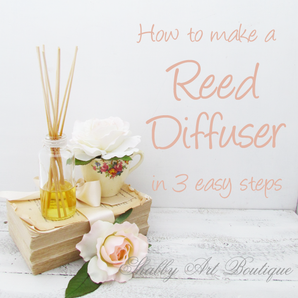 Shabby Art Boutique - reed diffuser 4