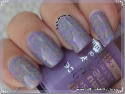 pastel multistamping leopard print 3