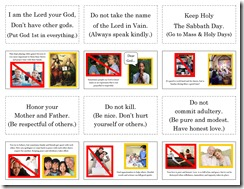 10 Commandments 4Lapbook pg1