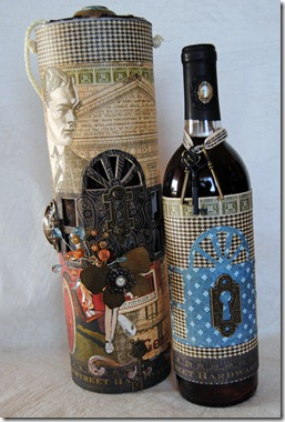 wine case wine bottle