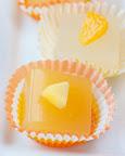 Mandarin and mango Cosmopolitan shots