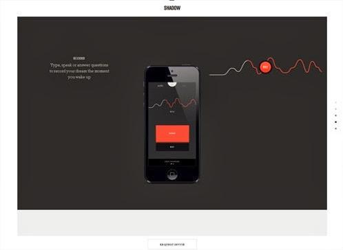20 hermosos y simples sitios web minimalistas 16