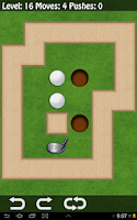 Screenshot of Golf Sokoban HD - Logical Golf