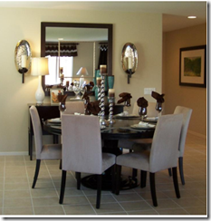 Mirror in dining room - buildingmoxie