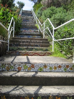 Gordon's Bay stairs (2)