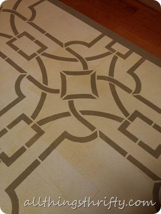 brown floor