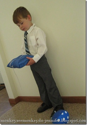 ring bearer outfit for three-year old boy