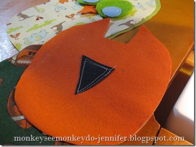 Owl Stuffie and pattern (5)