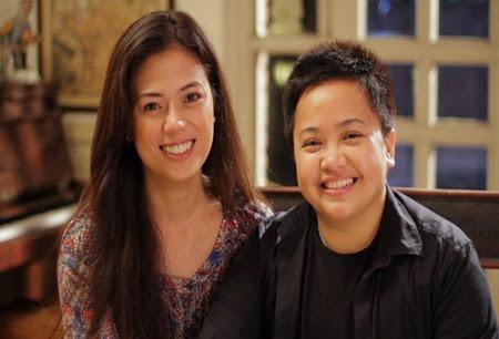 Liza Diño and Aiza Seguerra