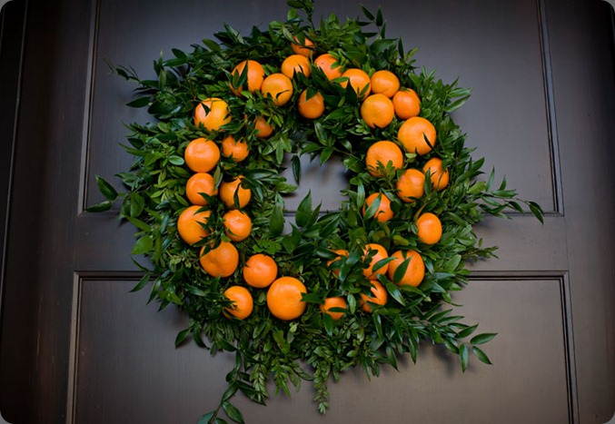 orangewreath rebecca dawn flower design and irange firl  photo
