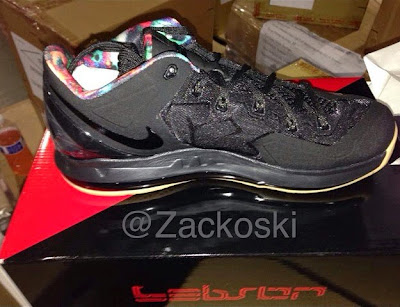nike lebron 11 low gr black hyper crimson 1 03 Nike LeBron 11 Low Black / Hyper Crimson Drops on July 31st