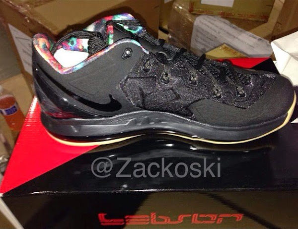 Nike LeBron 11 Low Black  Hyper Crimson Drops on July 31st