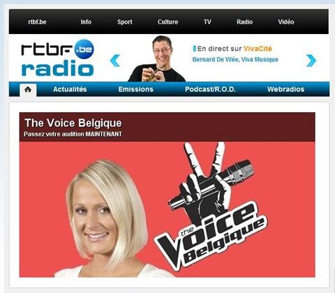 The Voice Belgique 2