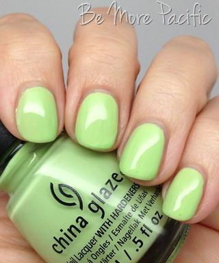 China Glaze Be More Pacific nail polish