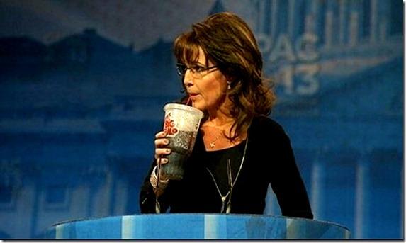 Sarah Palin - Big Gulp - CPAC 2013