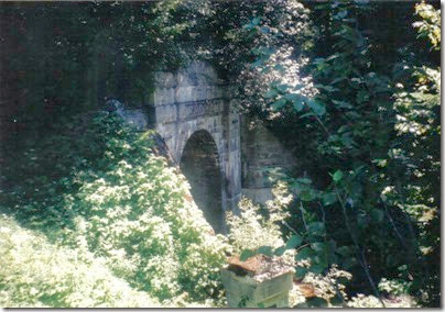 West Portal of the old Cascade Tunnel in 2000