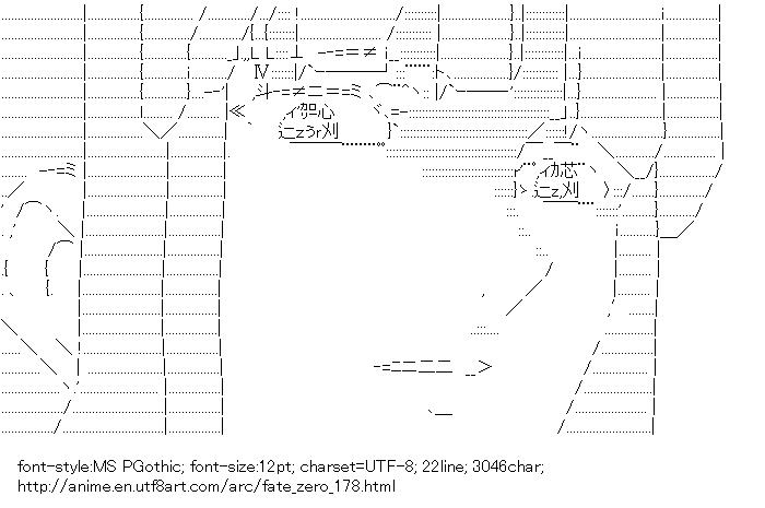 Fate/zero,Tosaka Aoi