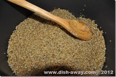 Freekeh Recipe by www.dish-away.com