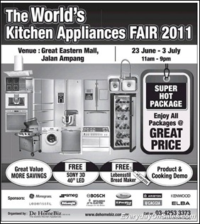 The-World-kitchen-appliance-Fair-2011-EverydayOnSales-Warehouse-Sale-Promotion-Deal-Discount