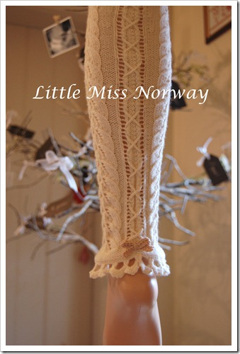 WINTER WHITE VM LEGWARMERS 12 3