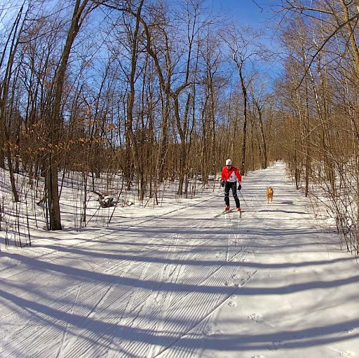 Incredible skate ski conditions for April 2nd