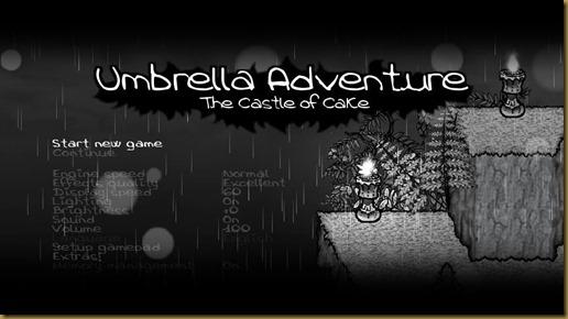 Umbrella Adventure タイトル
