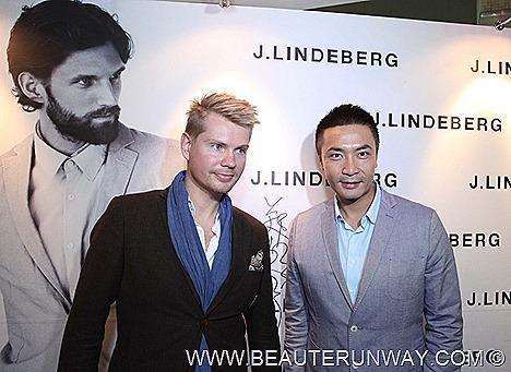 J.LINDEBERG SINGAPORE Menswear Tay Ping Hui Brand Ambassador  Jacket shirt FLAGSHIP BOUTIQUE MANDARIN GALLERY Retail Stockholm