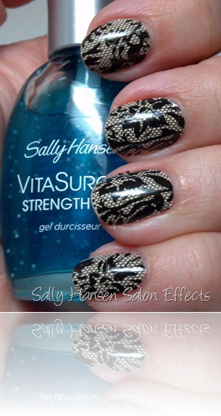 Sally Hansen Salon Effects in Laced Up 2