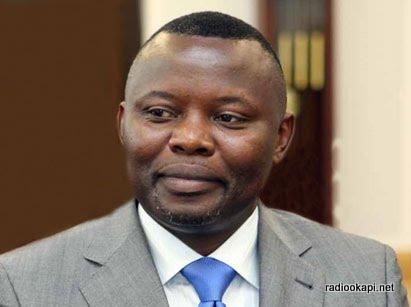 Vital Kamerhe, président de l'UNC, en 2007