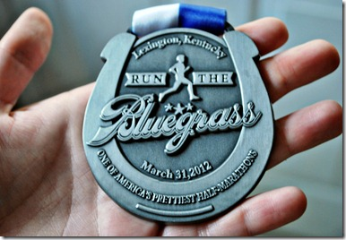 run the bluegrass medal