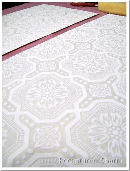 Armoire Wallpapered 046a