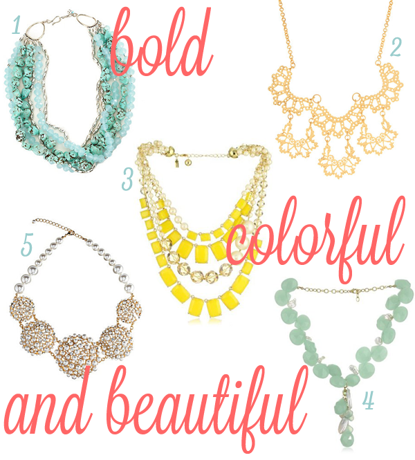 Statement Necklaces 2