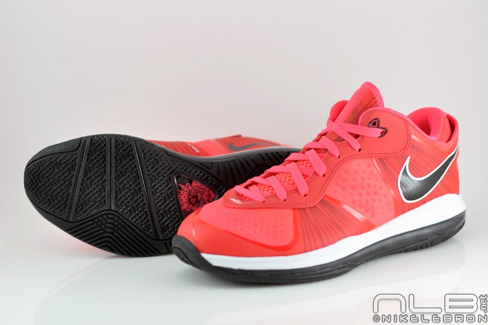 lebron 8 low red - photo #22