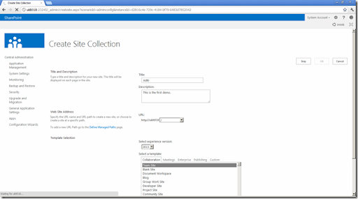 sharepoint 2013 project site template