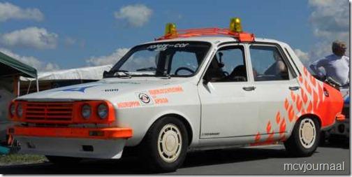 Dacia als safety car Classic Grandprix Schleiz  03