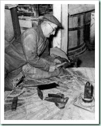 Horstead stone dressing 1960
