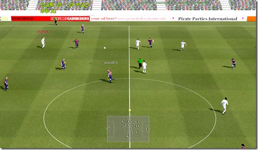 Gameplay Football beta (2)