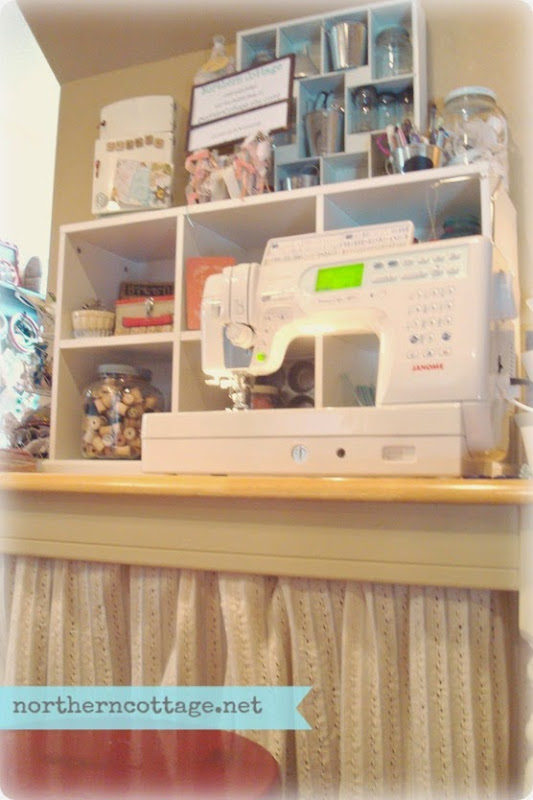 sewing studio {NorthernCottage}