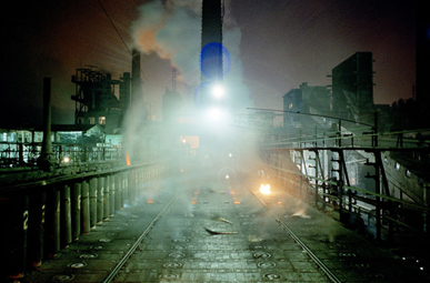 Industrial emissions at a coal coking plant in China. Ian Teh / Panos